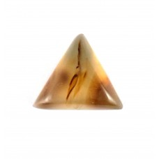 Botswana Agate 12mm Triangular Loose Gemstone Cabochon