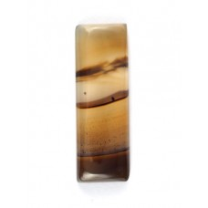 Botswana Agate 30x10mm Rectangular Loose Gemstone Cabochon