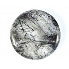 Rutilated Quartz 35mm Round Loose Gemstone Cabochon
