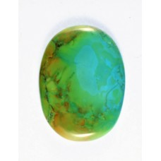 Turquoise 40x30mm Oval Loose Gemstone Cabochon