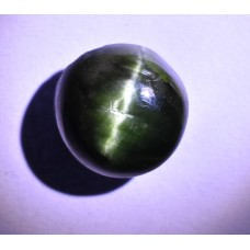 Green Cats Eye Diopside 10mm Round Cabochon