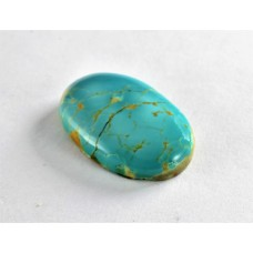 Turquoise 27x18mm Loose Oval Gemstone Cabochon