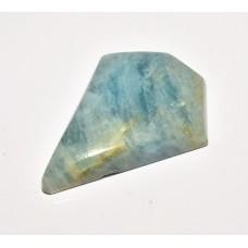 Aquamarine 31x24mm Polygon Cut Loose Gemstone Cabochon