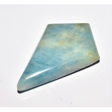 Aquamarine 35x24mm Kite Cut Loose Gemstone Cabochon