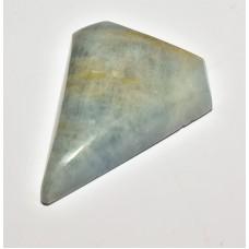 Aquamarine 30x23mm Polygon Cut Loose Gemstone Cabochon
