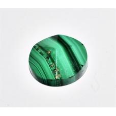Malachite 10mm Round Conical Facet Loose Gemstone