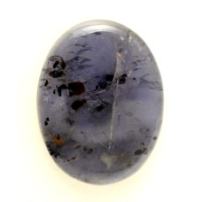 Iolite 36x27mm Oval Gemstone Cabochon