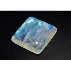 Rainbow Moonstone 19mm Square Loose Gemstone Cabochon
