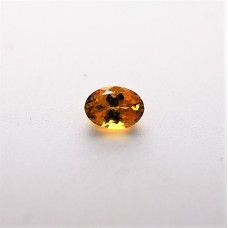 Garnet (Mandarin) 7x5mm Loose Oval Faceted Gemstone