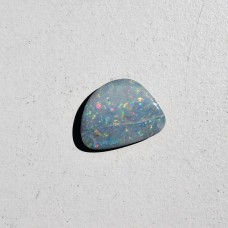 Opal (Doublet) 14x11mm Fancy Cut Loose Gemstone Cabochon