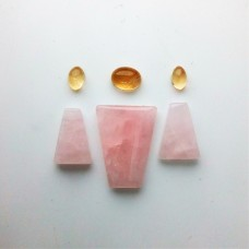 Gem Pack: Rose Quartz, Citrine