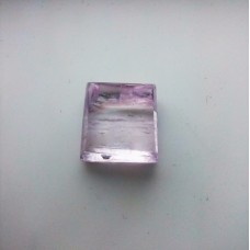 Kunzite 14x13mm Rectangular  Cut Loose Gemstone Cabochon