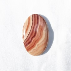 Wave Dolomite 43x27mm Oval Loose Gemstone Cabochon