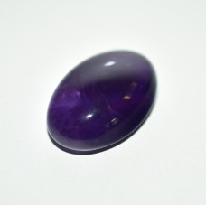 Amethyst 25x16mm Oval Loose Gemstone Cabochon