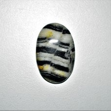 Zebra Jasper 33x22mm Oval Loose Gemstone Cabochon