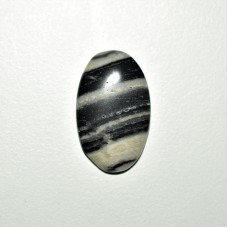 Zebra Jasper 25x16mm Oval Loose Gemstone Cabochon