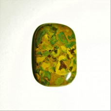 Fruit Jasper 37x24mm Rectangular Loose Gemstone Cabochon