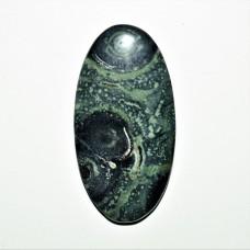 Star Galaxy Jasper 44x23mm Oval Loose Gemstone Cabochon