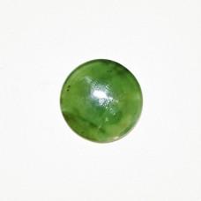 Nephrite Jade 20mm Round Gemstone Cabochon