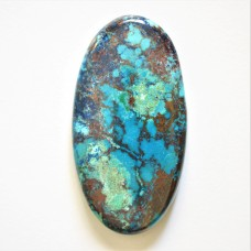 Chrysocolla 52x27mm Oval Cabochon