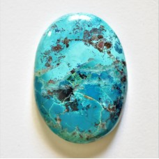 Chrysocolla 38x27mm Oval Cabochon