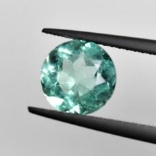 Emerald 7.7mm Round Brilliant Cut Gemstone