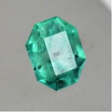 Emerald 9.4x7.7mm Octagonal Cut Faceted Gemstone