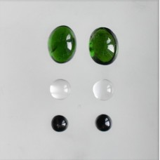 Gem Pack: Chrome Diopside, Moonstone and Moonstone