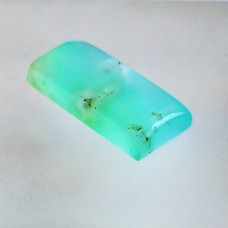 Chrysoprase 32x14mm Rectangular Cabochon