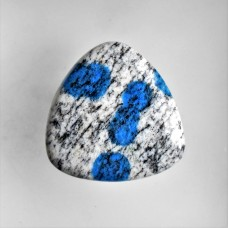 K2 Azurite 32mm Triangular Cabochon