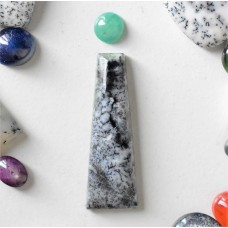 Gem Pack: Dendritic Opal and Emerald Cabochons