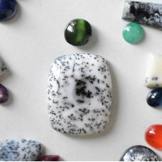 Gem Pack: Dendritic Opal and Green Cats Eye Diopside