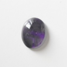 Amethyst 22x18mm Oval Gemstone