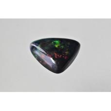 Black Opal 10mm Triangular Cabochon