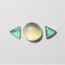 Gem Pack: Moonstone, Rose Quartz and Fluorite