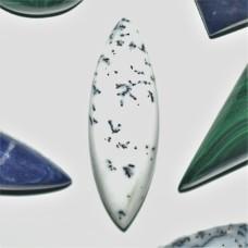 Dendritic Opal 30x10mm Marquise Cut Cabochon