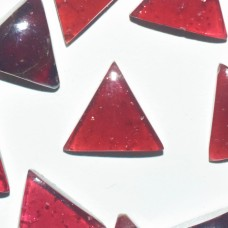 Garnet 10mm Triangular Cabochon
