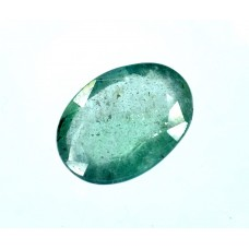 Emerald 11x8mm Oval Faceted Gemstone