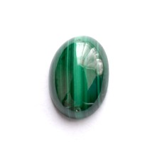 Malachite 14x10mm Oval Gemstone Cabochon