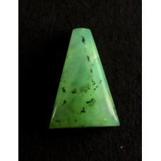 Chrysoprase 20x14mm Trapezium Shaped Gemstone Cabochon