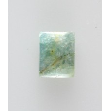Aquamarine 9x7mm Rectangular Gemstone Cabochon