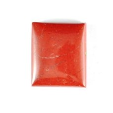 Red Jasper 20x17mm Rectangular Gemstone Cabochon