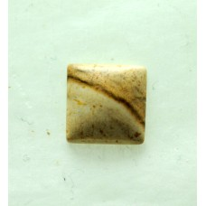 Picture Jasper 10mm Square Shaped Cabochon