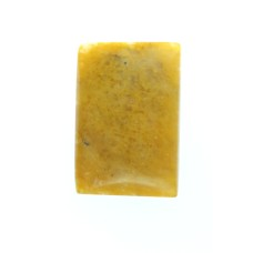 Yellow Jasper 20x15mm Rectangular Gemstone Cabochon