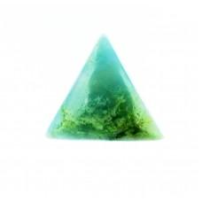 Aquamarine 13mm Triangular Gemstone Cabochon