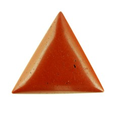 Red Jasper 21mm Triangular Gemstone Cabochon