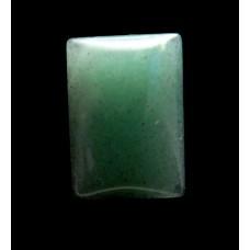 Green Aventurine 20x14mm Rectangular Gemstone Cabochon