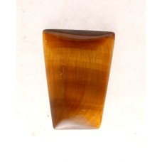 Tigers Eye 20x15mm Trapezium Cut Gemstone Cabochon