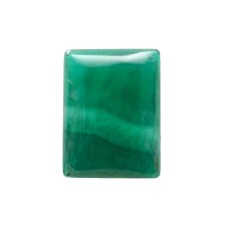 Green Onyx 20x15mm Rectangular Gemstone Cabochon