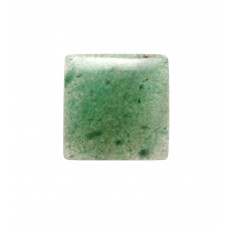Green Aventurine 15mm Square Gemstone Cabochon